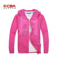 【618狂嗨继续】CBA女子皮肤衣夏季轻薄透气防晒皮肤风衣女款薄外套空调衫