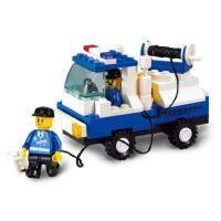 小鲁班益智拼装积木儿童智力拼插玩具障碍车模型男孩6岁以上