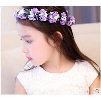 儿童花环头饰甜美公主韩版花童礼服婚纱头饰女童摄影演出发箍饰品