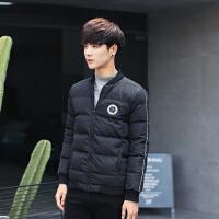 秋冬新款韩版修身男士棉衣加厚外套冬季保暖青少年棉衣
