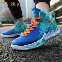 安踏儿童篮球鞋 2017夏款男童运动鞋学生战靴耐磨训练鞋31721108