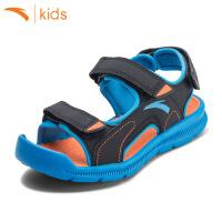 安踏男童凉鞋 儿童包头凉鞋夏季沙滩鞋魔术贴休闲男鞋子31726980