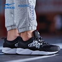 鸿星尔克(ERKE)男童鞋儿童运动鞋防滑大童慢跑鞋