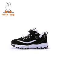 Miffy米菲秋冬儿童熊猫鞋黑白童鞋男童女童二棉鞋男孩运动鞋AD028