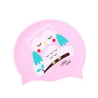 儿童硅胶泳帽男童女童卡通动物游泳帽