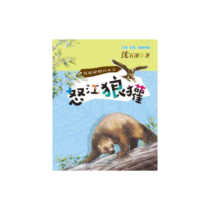 我的动物好朋友--怒江狼獾 沈石溪著 彩绘注音版带拼音绘本 阅读拓展