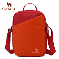 camel骆驼户外挎包 男女通用耐磨提垮两用3L斜挎包单肩包
