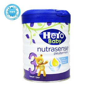 荷兰Hero Baby美素白金版奶粉3段 700g 保质期到18年3-5月 外观轻微破损或变形