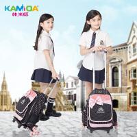 咔米嗒儿童书包拉杆包1-3-5-6年级小学生背包女生双肩包