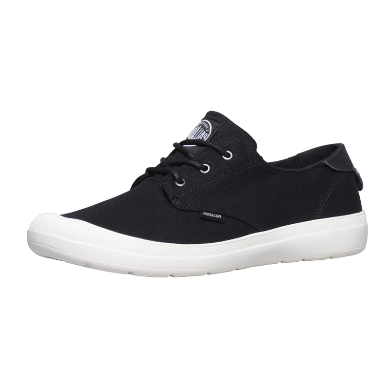 帕拉丁palladium低帮女鞋 新款纯色休闲鞋透气帆布鞋95352
