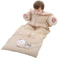 春秋冬款加厚婴幼儿童防踢被 宝宝睡袋纯棉用品