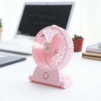 【包邮】创意usb充电加湿器电扇 迷你双叶风扇 USB迷你小风扇夏季掌上风
