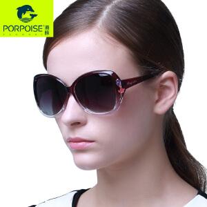 海豚偏光太阳眼镜 女士优雅时尚墨镜 驾驶旅行太阳镜PP-3160