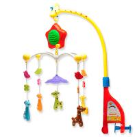 五星玩具 小鹿床头铃 婴幼儿转转乐床铃玩具 12首音乐 礼物 0-1岁儿童礼物