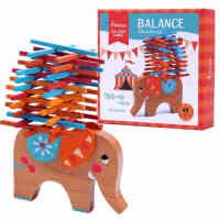 六一儿童节礼物!Mideer弥鹿大象平衡叠叠乐儿童叠叠高桌面益智亲子智力游戏3-6岁 手眼协调 亲子互动 平衡学习 趣味好玩
