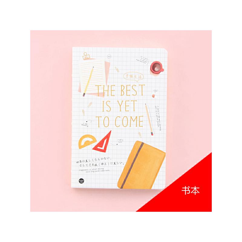韩国创意文具学习笔记本 素描本手绘本绘画 速写本空白涂鸦本子_书本
