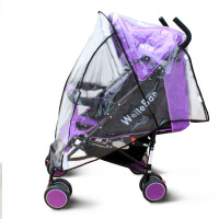 婴儿车雨罩 通用婴儿手推车雨罩 儿童伞车童车/防风雨罩 推车雨罩