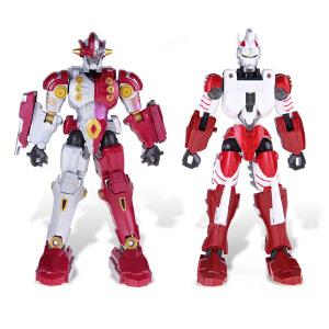 [当当自营]BANDAI 万代 奥特超可动系列-钢铁武士与钢铁九号 正版奥特曼动漫周边儿童玩具 E80471