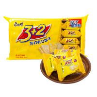 [当当自营] 康师傅 3+2苏打香浓奶油味分享装 500g