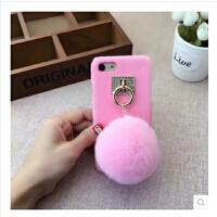 【支持礼品卡】OPPO R9SPLUS毛球手机壳VIVO R9PLUS獭兔毛球保护套X7毛绒硬壳女