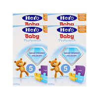 德国直邮 荷兰Hero Baby美素奶粉5段(2周岁以上宝宝)700g【4罐装】