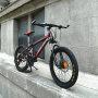耐嘛20寸自行车21速双碟刹禧玛诺变速儿童学生山地车