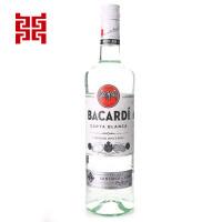 洋酒Bacardi superior百加得白朗姆酒750ml