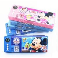 联众 迪士尼铅笔盒 小学生 多功能儿童男女生 米奇 文具盒 D01066