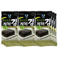 [当当自营] 韩国进口 清净园 CHUNGJUNGONE 清净园橄榄油海苔/袋装 40.5g