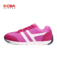【618狂嗨继续】CBA女运动休闲鞋正品透气平底舒适 春季时尚运动鞋板鞋女鞋
