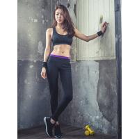 COPPERHEAD 新款弹力紧身瑜伽裤 健身裤 女长裤显瘦紧身跑步训练打底裤运动裤 秋冬