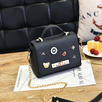 芭特莉2017新款女包时尚韩版包包女小方包糖果色女式包包手提包【全店支持礼品卡】