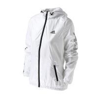 Adidas阿迪达斯 女子训练运动休闲夹克外套 BS3216 现
