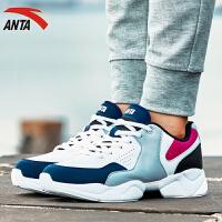 ANTA安踏女鞋跑步鞋春季轻便健身训练休闲鞋运动鞋女综训鞋12647757