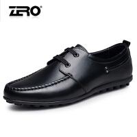 断码特惠Zero零度商务休闲男士皮鞋纯手工真皮头层精致时尚男鞋X6152