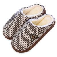 冬季男士棉拖鞋男厚底保暖居家居拖鞋防滑地板毛拖鞋