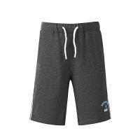鸿星尔克(ERKE)童装儿童运动短裤 男童五分短裤 透气舒适休闲裤