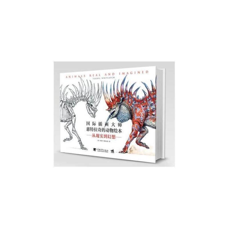 插画教程书籍插画师动物创意绘画书籍动物形态姿势绘画书籍美术教材