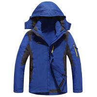 AFS JEEP 战地吉普 新品户外男款冲锋衣 男装两件套三合一 男士户外休闲夹克