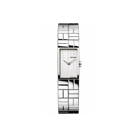 Calvin Klein/凯文克莱 女士长方形手表时装腕表钢带女款手表CK-K0J23120  送女朋友女神的表