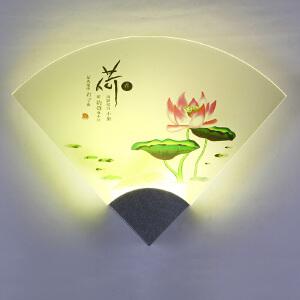 御目 壁灯 床头灯卧室过道客厅现代简约墙壁铝灯led温馨创意个性灯走廊小夜灯 创意灯具