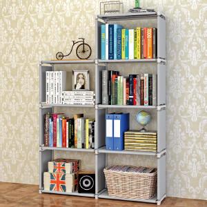 亚思特时尚层架 自由组合架子收纳置物架实用书柜 书架 sj0405
