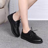 春季百搭休闲鞋子女韩版流行低帮鞋系带学生跑步鞋时尚运动鞋女鞋