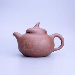 【只有一个】原矿紫泥茄段紫砂壶