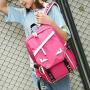 芭特莉2017新款可充电双肩包旅行包大容量背包 WM#2122
