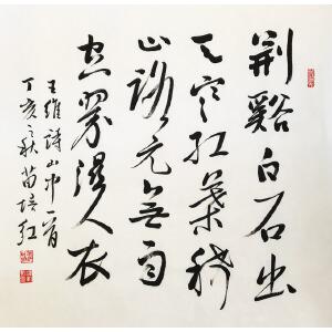 中国大众文学学会理事 苗培红 《王维诗》