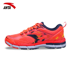 安踏女鞋跑鞋春季轻便透气防滑耐磨女子运动休闲跑步鞋12625500