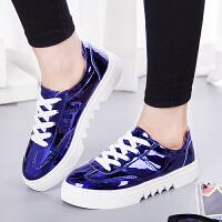 2017女鞋百搭休闲鞋子韩版青春运动鞋女式低帮跑步鞋时尚板鞋