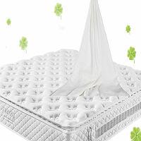 [当当自营]富安娜床垫 进口 乳胶床垫 席梦思床垫 静音独立分区弹簧床垫 婚床床垫 牛奶型面料 白色 150*190*25cm