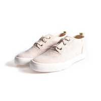 Keds 海报款 女鞋女士休闲帆布鞋经典米色针织纹女帆布鞋